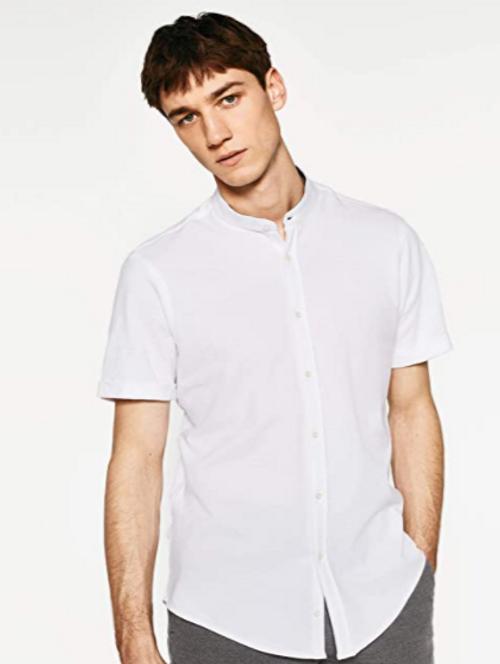 Zara Man white Polo